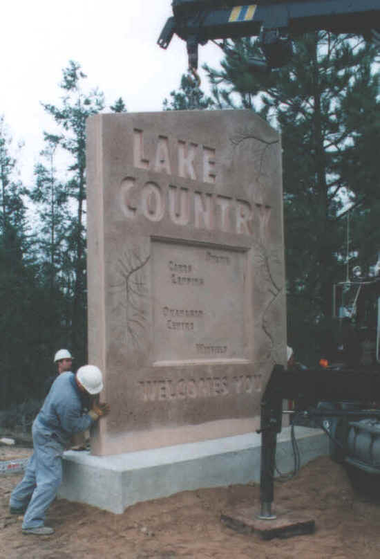 Lake Country Sign
